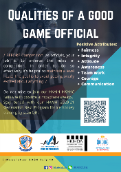 Qualities of a good game official