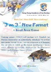 """3 on 3"" New Format-Small area game"