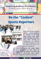 "Be the ""Coolest"" Sports Reporters"