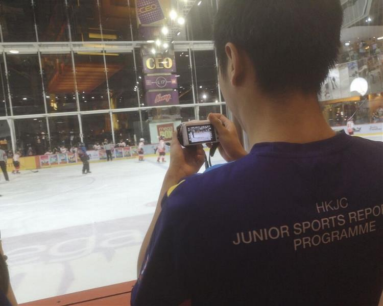 Ice Hockey Junior Reporters 4