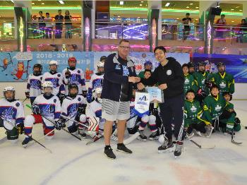 2019澳門冰球教練培訓課程 暨 青少年冰球訓練營